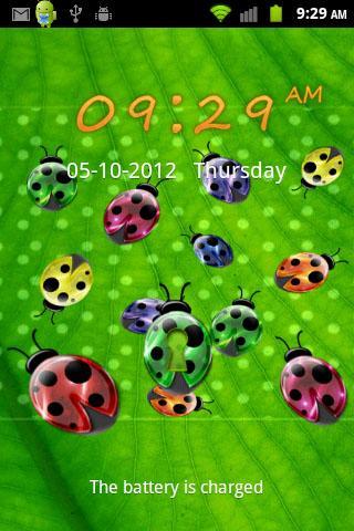 Ladybugs GO LOCKER