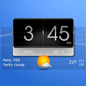 3D Flip Clock Theme Pack 03