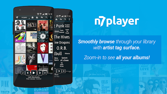 n7player Music Player- screenshot thumbnail