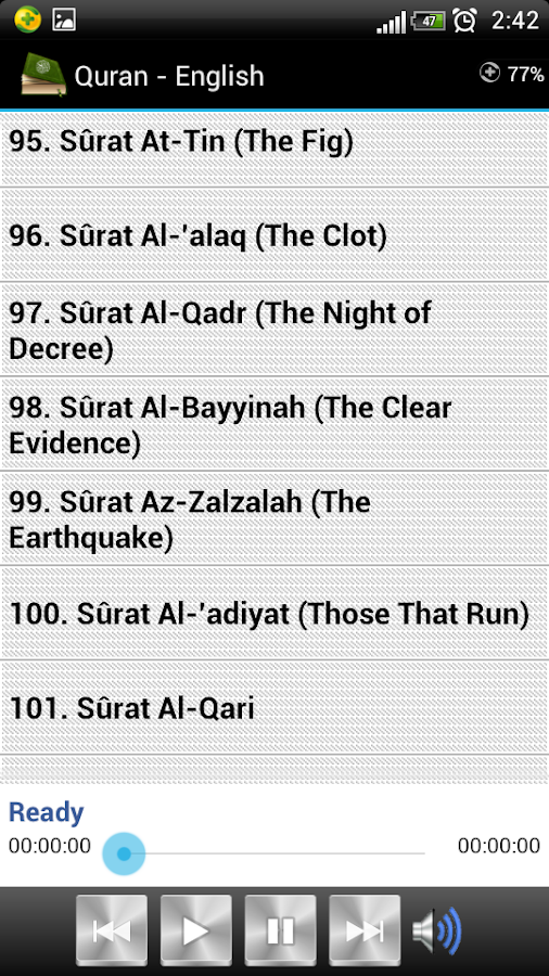 Quran - English Screenshot 6