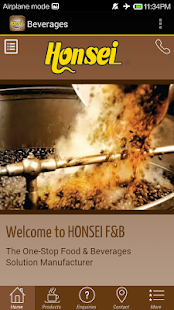 Honsei F&B Manufacturer - screenshot