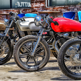 Oldies but goodies by Ferdinand Ludo - Transportation Motorcycles ( awesome!, vintage, older bikes, restored )