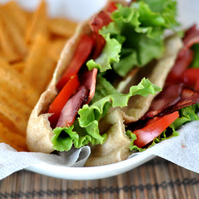 BLT Pita Pockets