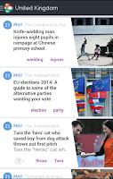 Screenshot of NEWSCRON – ALL NEWS IN ONE APP