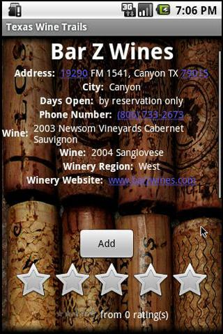 Texas Winery Tour Guide 4 A1.X