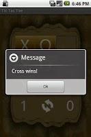 Screenshot of 2 Player Tic Tac Toe