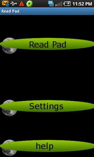 Read Pad