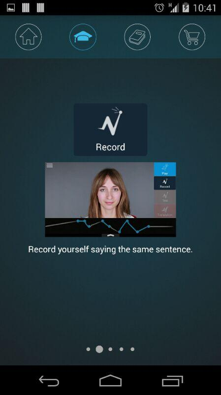 Nativox: your english tutor Screenshot 17