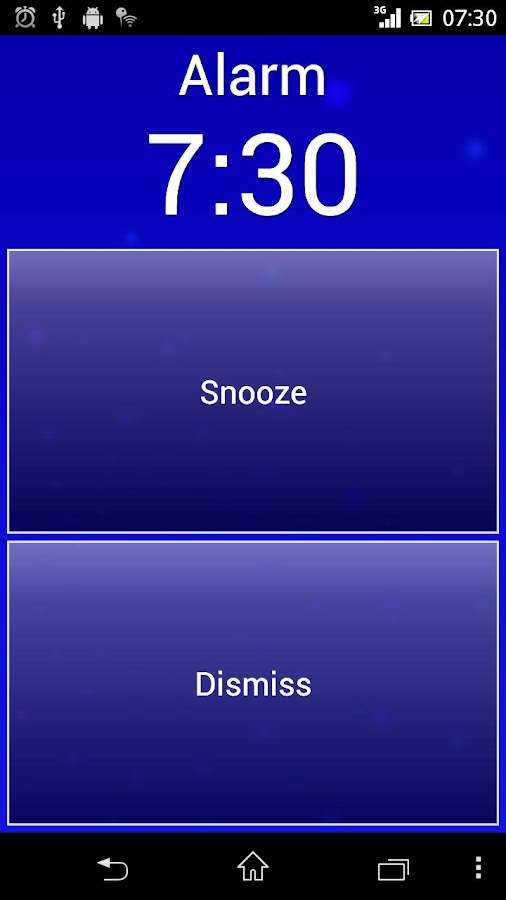 Smart Alarm (Alarm Clock) Screenshot 1