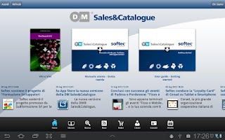 Screenshot of DM Sales&Catalogue