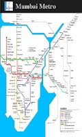 Screenshot of Mumbai Metro Map (Free)