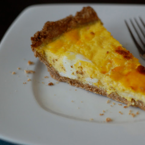 Quiche with a Super Easy Whole-Wheat Crust