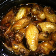 Chicken Wings in Honey Sauce - Crock Pot