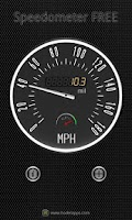 Screenshot of Speedometer FREE