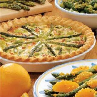 Asparagus Swiss Cheese Quiche Recipes