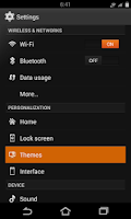 Screenshot of Flow Orange Theme for CM9/10.2
