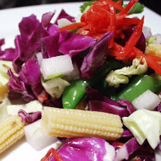 Asian Chopped Vegetable Salad