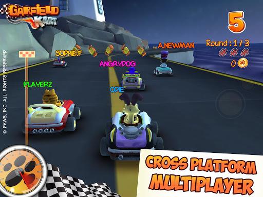 Garfield Kart - screenshot