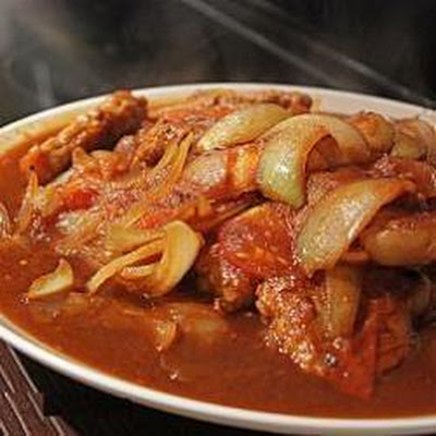 Hong Kong Style Pork with Tomato Sauce