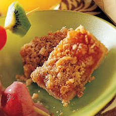 Heavenly Apricot Cobbler Bars