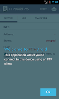 Screenshot of FTPDroid