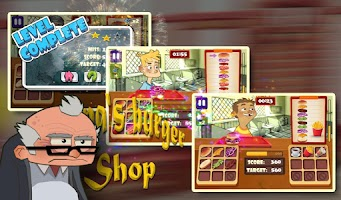 Screenshot of Papa's Burger Shop