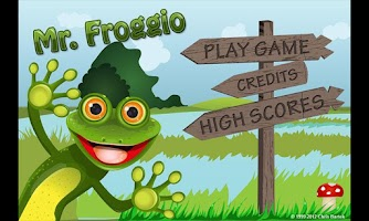 Screenshot of Mr. Froggio