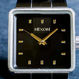 Nixon by Colton McTee - Artistic Objects Clothing & Accessories ( studio, timepiece, watch, nixon, close up )