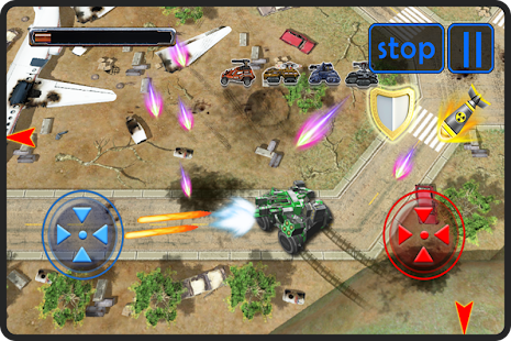 SUPER WAR TANK 3D - screenshot