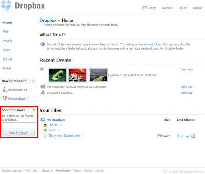 Dropbox註冊篇-03.邀請