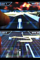 Screenshot of Light Racer 3D