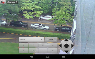 Screenshot of Viewer For Panasonic IP Camera