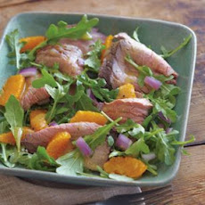 Roasted Beef, Arugula and Tangerine Salad