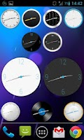 Screenshot of ClockQ Analog - clock widget