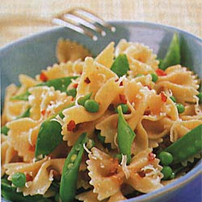 Farfalle with Peas and Pancetta