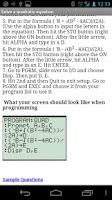 Screenshot of ACT/SAT Math Booster (lite)