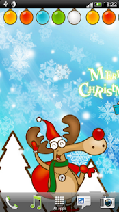 Merry Christmas Live Wallpaper - screenshot