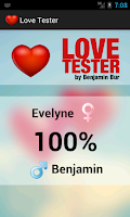 Screenshot of Love Tester - Check Your Love