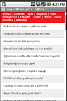 Screenshot of Turkish Newspapers