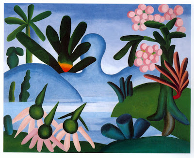 tarsila do amaral, lago