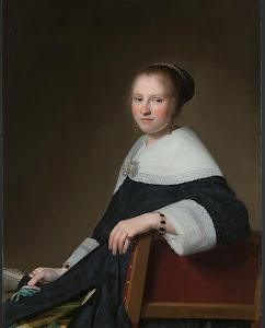 RIJKS: Johannes Cornelisz. Verspronck: Portrait of Maria van Strijp 1652