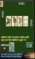 Screenshot of Cards scoba 15