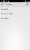 Screenshot of iSend SMS