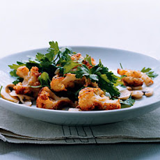 Parmesan Cauliflower and Parsley Salad