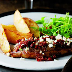 Lamb Rump With Sun-dried Tomatoes And Feta