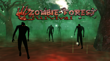 Screenshot of Survivor of Zombies Forest