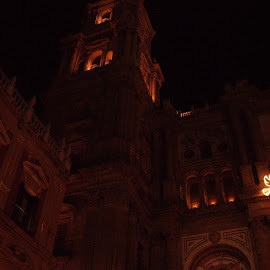 Night lit Church by Benjamin O'Neill - Buildings & Architecture Places of Worship (  )