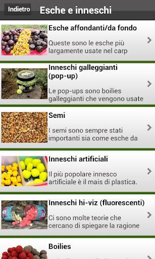 Carp Fishing Italiano - screenshot