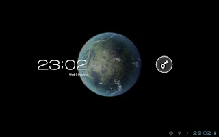 Screenshot of Planet Venus 3D Live Wallpaper