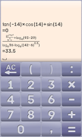 Screenshot of MY calculator donate